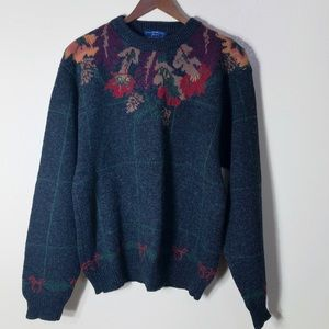 🔵 The Woolrich Woman Vintage Wool Sweater